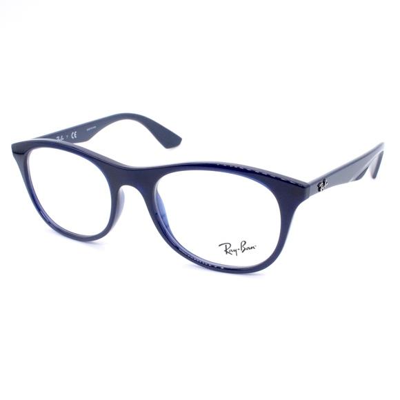 Ray-Ban Eyeglasses RB 7085 5584 52.19 145 Blue Men
